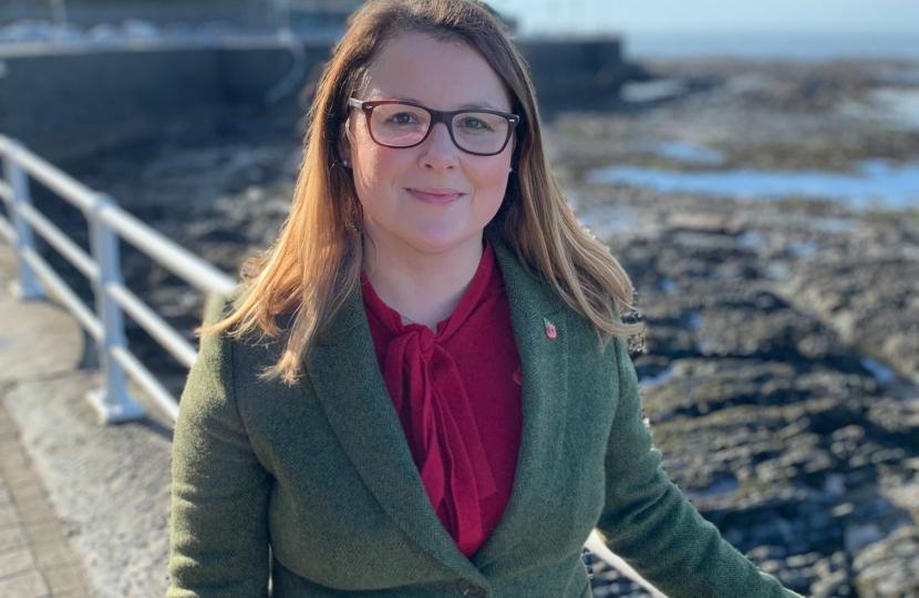 Powys County Councillor Amanda Jenner